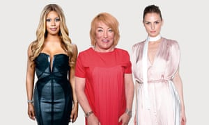 actor Laverne Cox, former boxing promoter KellieMaloney and model Andreja Pejic