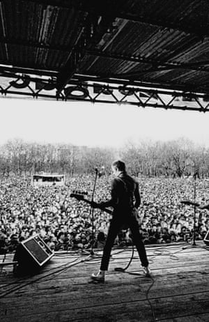 Paul Simonon at Victoria Park.