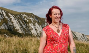 'It was a case of be myself or kill myself': Leah Gaynor, a 42-year-old alarm engineer who has  been living as a woman for three years.