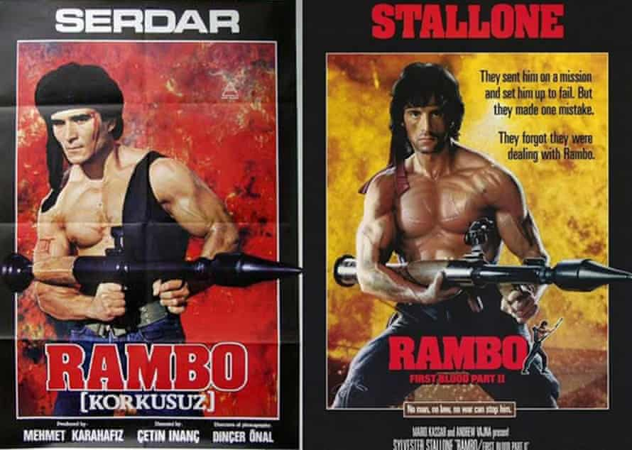 Certifiable copy: the Turkish Rambo and the film that inspired it.