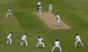 Action from England vs Australia in the fourth Ashes Test