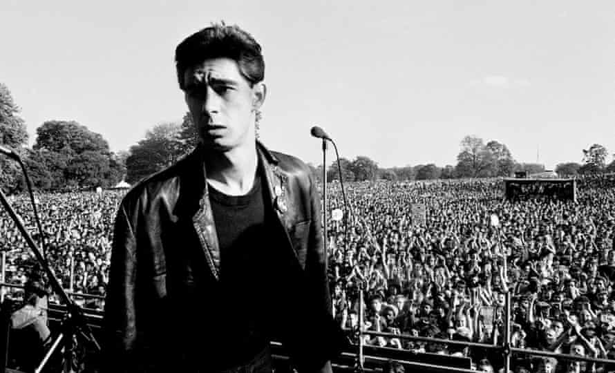 Jimmy Pursey at Brockwell Park.