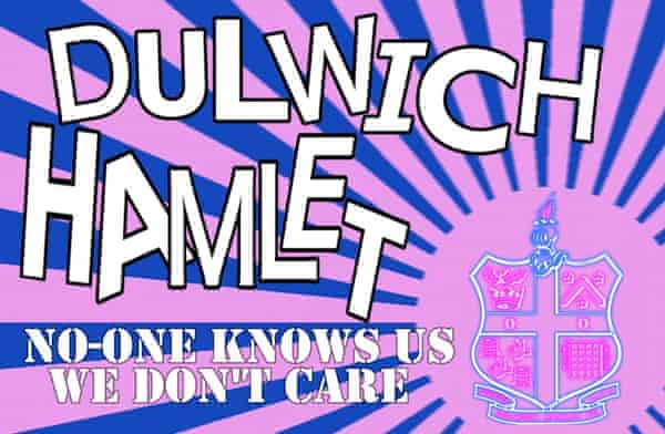 'Somewhere between real and a piss-take': Dulwich Hamlet FC fan art.