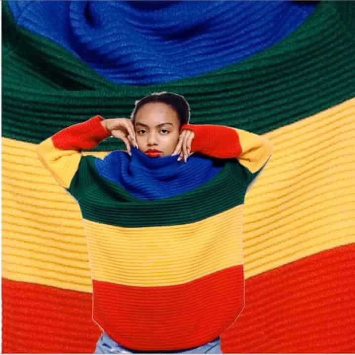 True colours … a shot from Sensitive Black Person.