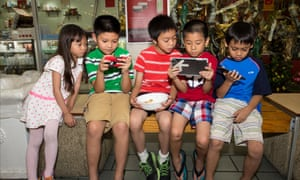 More research is needed into the impact apps have on children.