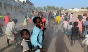 Children in Yola, Adamawa State, Nigeria