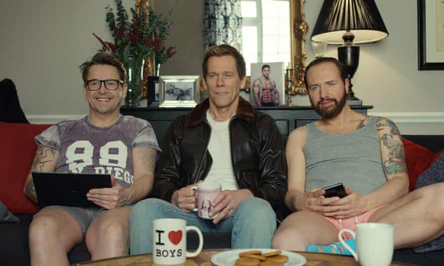 EE TV's ad featuring Kevin Bacon