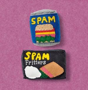 Lucy Sparrow artist spam felt