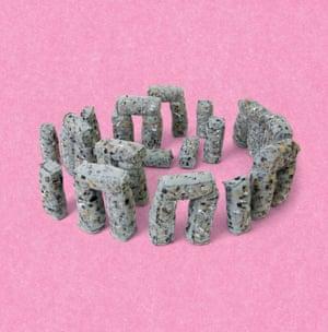 Lucy Sparrow felt artist stonehenge