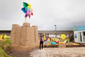 Banksy's new exhibition called Dismaland