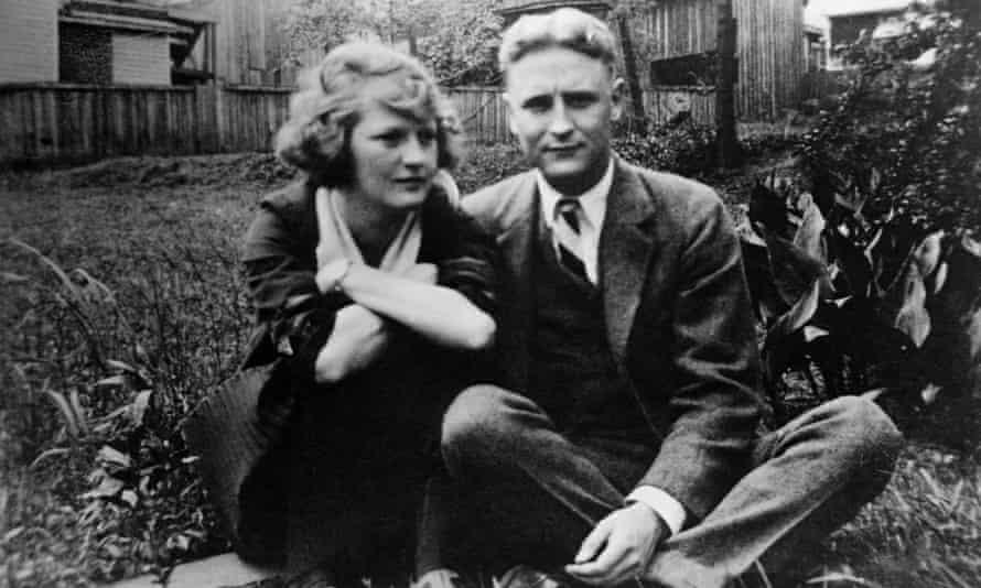 Zelda Fitgerald and F Scott Fitzgerald