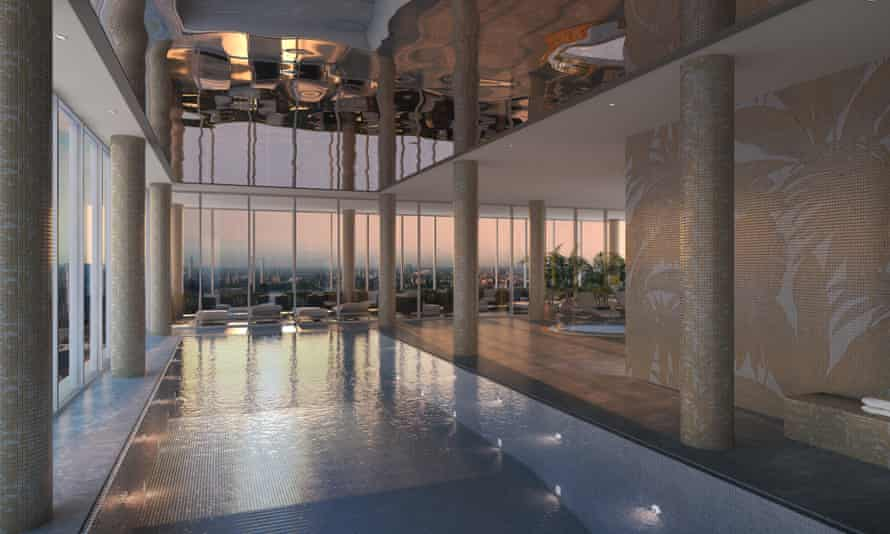 The Aykon Tower is inspired by 'the Greek and Roman myths that are part of the Versace DNA'