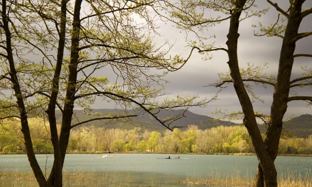 Lake view, Banyoles, Catalonia, Spain