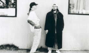 Jason Mewes, Kevin Smith as Jay and Silent Bob in Clerks, 1994