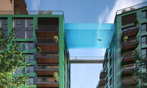 Irish developer Ballymore's Sky Pool in London