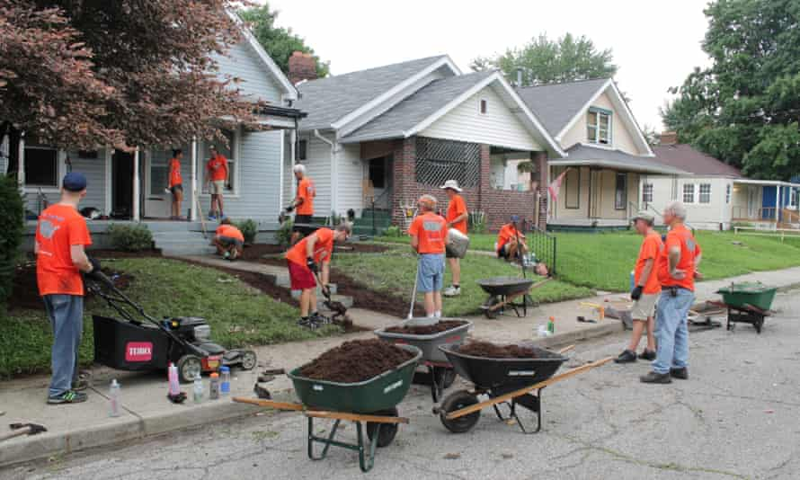 In Garfield Park, houses are being renovated into affordable homes for artists.