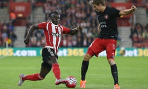 Sadio Marné in action for Southampton