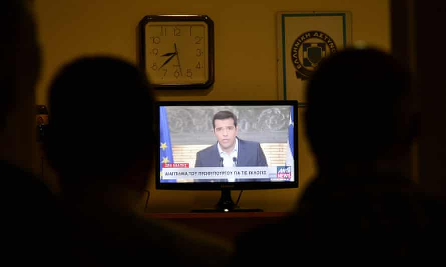 Tsipras announced his resignation and called for early elections in the crisis-hit country, widely expected to be held on September 20.