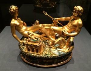 Cellini's golden salt cellar.