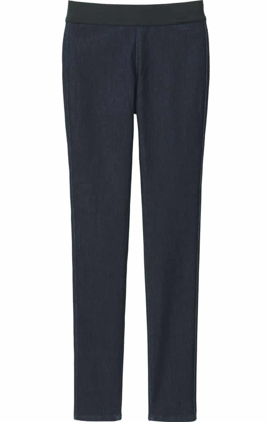 Denima Yoga pants from Uniqlo