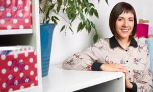 Ellen Green in her workroom