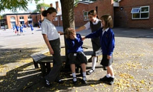 child being bullied by classmates