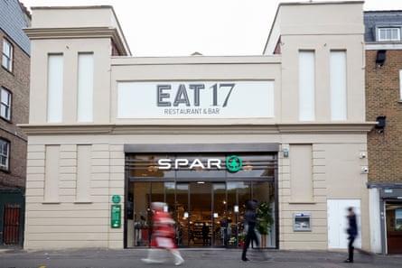 Eat17 Hackney is in a former cinema