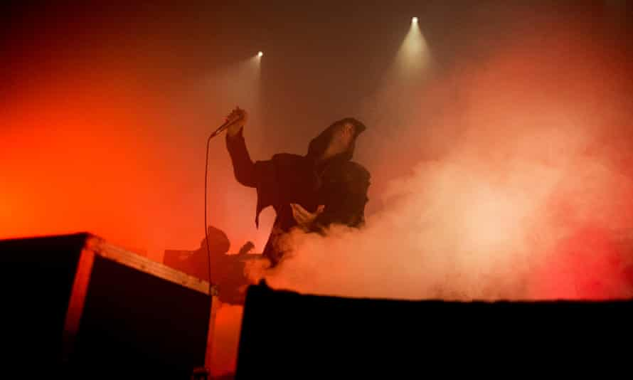 'Wreathed in cowls and dry ice': Sunn O))) at the Royal Festival Hall.