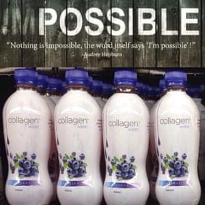 Collagen Water.
