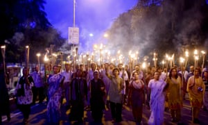 Violence against atheist writers has surged in recent months … secular activists protest against the killing of blogger Niloy Chakrabarti in Dhaka earlier in August.