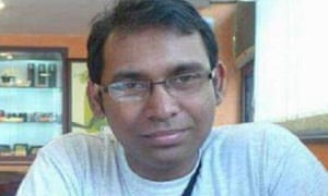 Ahmed Rajib Haider, a blogger critical of Islamic fundamentalism, was attacked and killed outside his home in Dhaka in early 2013.