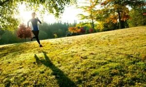 Every time I run, I like myself even more.