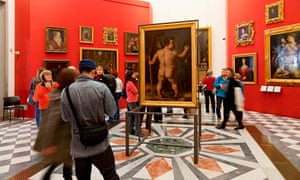 The Uffizi gallery in Florence is packed with masterpieces and consequently hugely popular.