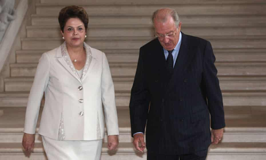 Brazilian President Dilma Rouseff Visits Brussels