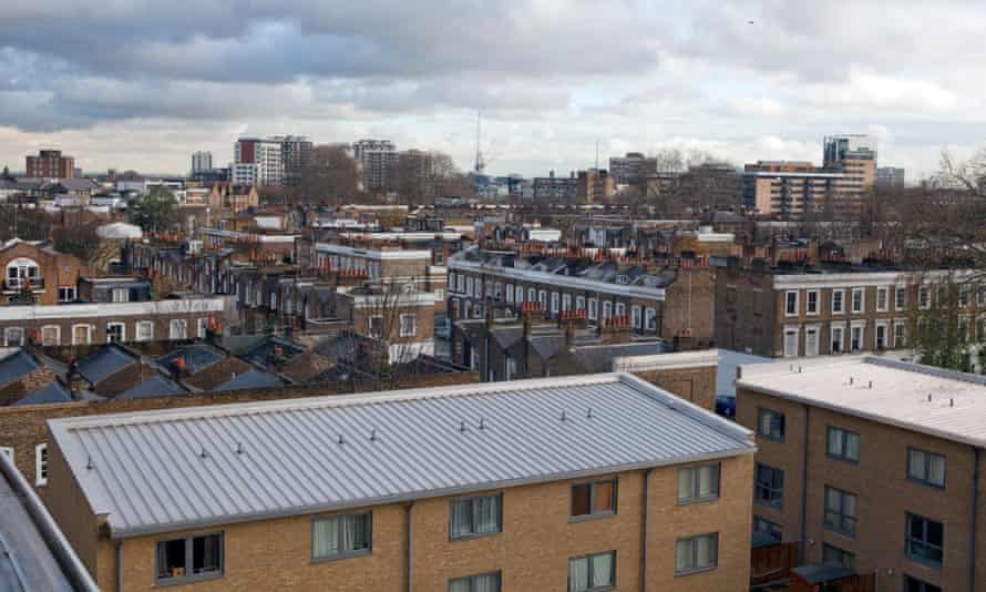 View from Packington Street apartments of Hackney
