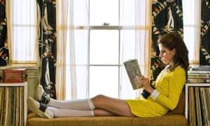 1960s chic ... Kara Hayward as Suzy Bishop in Moonrise Kingdom.