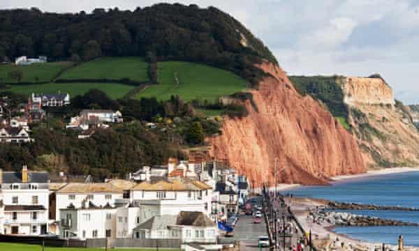 Sidmouth in Devon