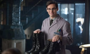 If the shoe fits: Cory Michael Smith as future Riddler Edward Nygma in Gotham