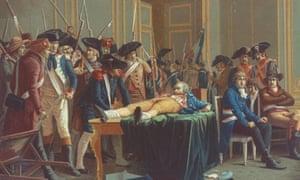 Arrest of Robespierre, 1794