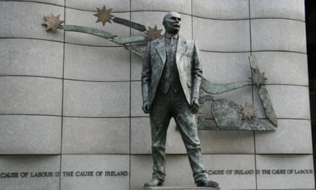 Statue of James Connolly in Dublin