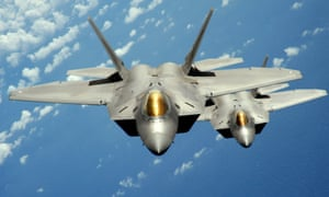 US air force F-22 Raptor stealth jet fighters are to be based in Europe.