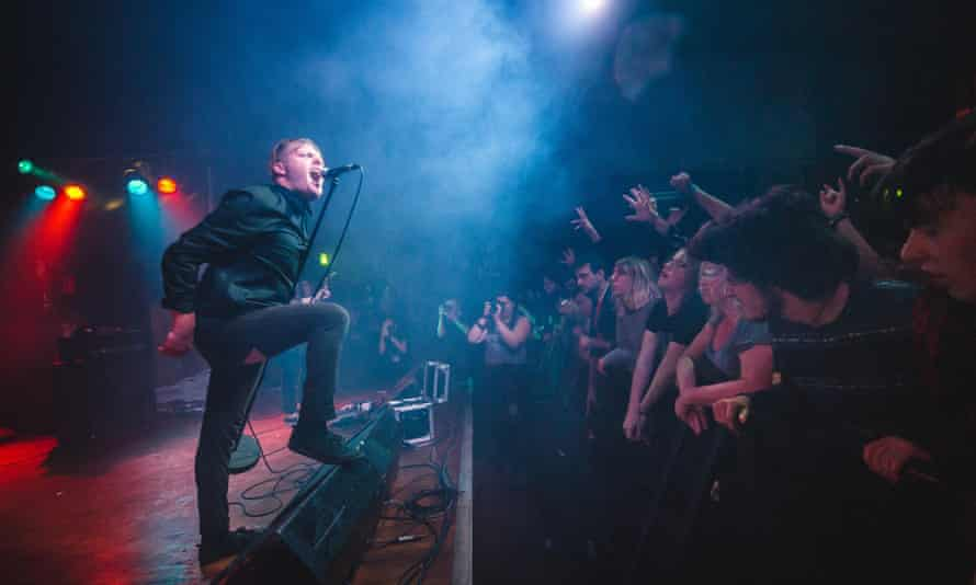 Deafheaven at Scala on 24 August, 2015 in London, England.