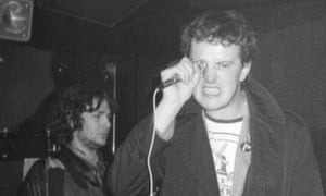 Jon the postman onstage at Pips in Manchester circa 1978