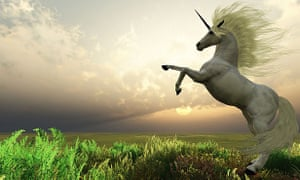 """Silicon Valley's """"unicorns"""" - start-ups valued at over $1bn - are nervously watching the stock market panic."""