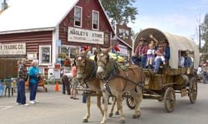 Talkeetna Moose Dropping Festival parade
