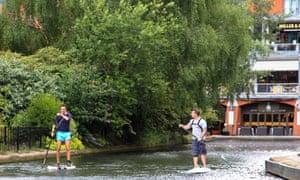 Paddleboarding in Birmingham