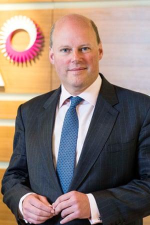 RSA Insurance Group boss Stephen Hester.