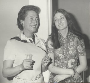 Dina Gold (right), with her mother, Aviva