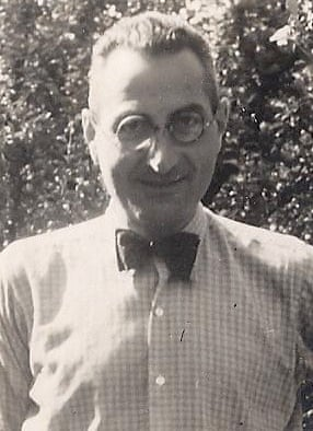 Fritz Wolff, Dina Gold's great uncle, who was murdered in Auschwitz, and left with $400 after the forced sale of the family business building.