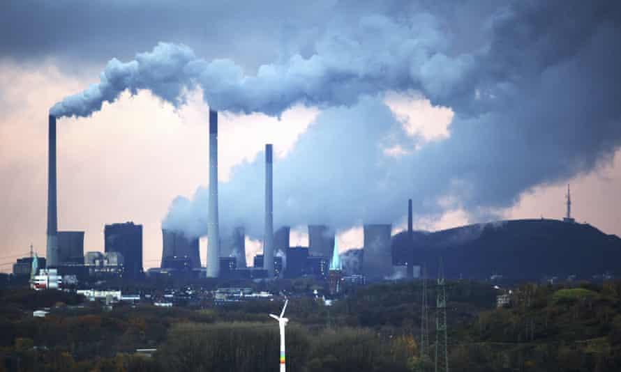 Scholven coal-fired power station, Gelsenkirchen, North Rhine-Westphalia, Germany